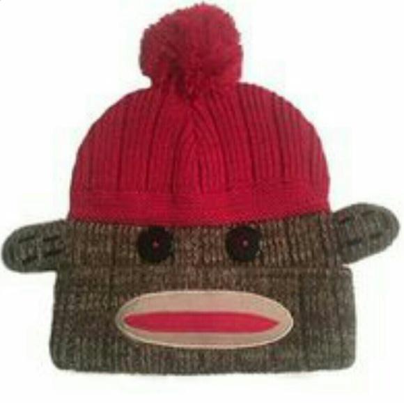 Accessories - Sock Monkey Beanie e11e57825da